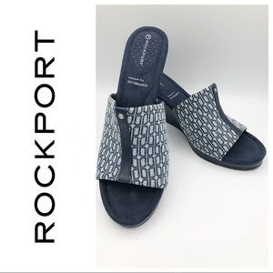 NEW ROCKPORT NAVY WEDGES